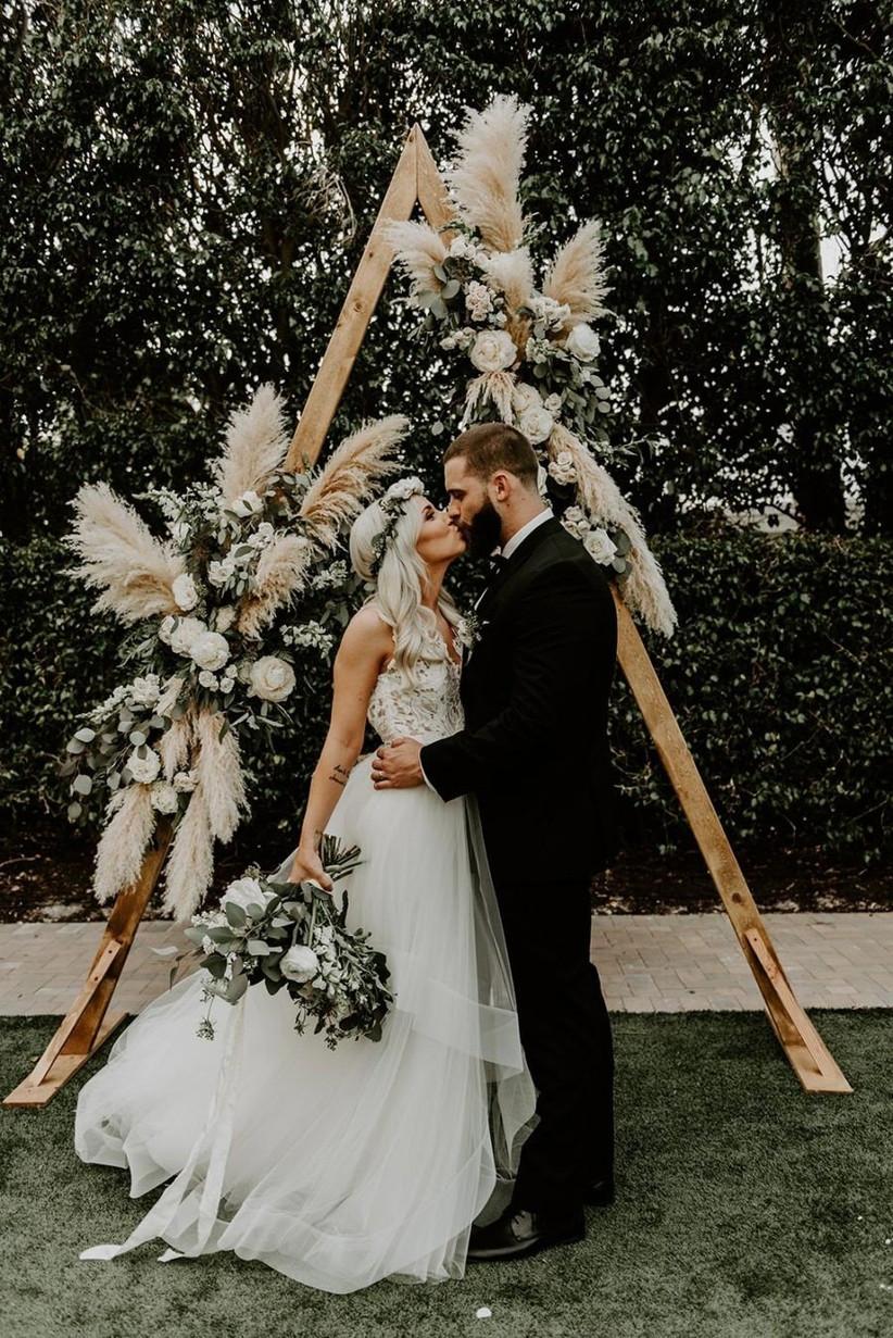 Pampas Grass Wedding Ideas