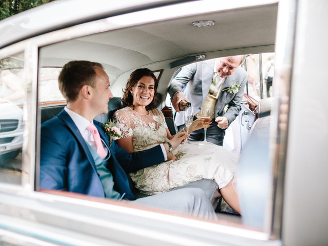 A Traditional Wedding at Chippenham Park with a Jenny Packham Dress