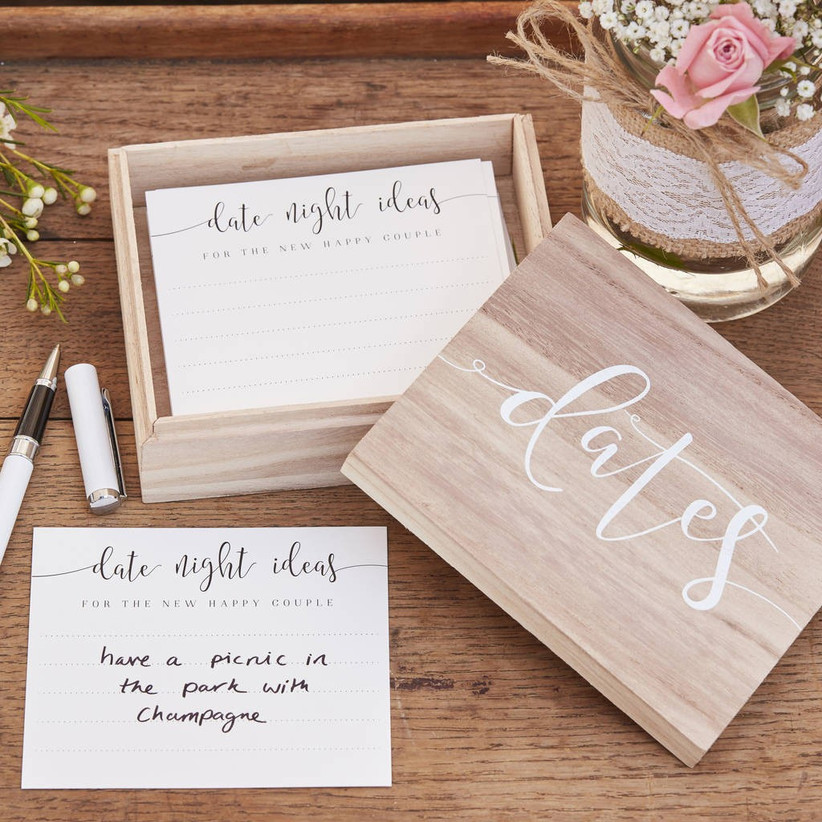 Date night ideas box