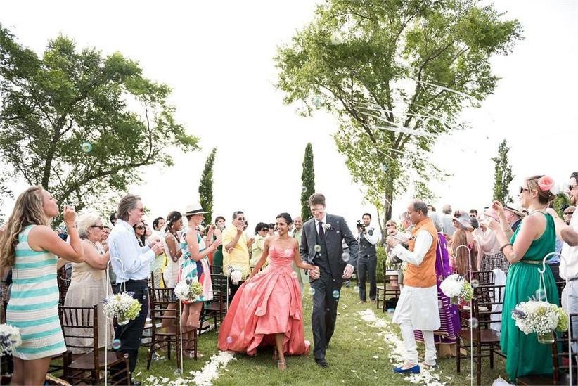 bride-in-pink-dress-2