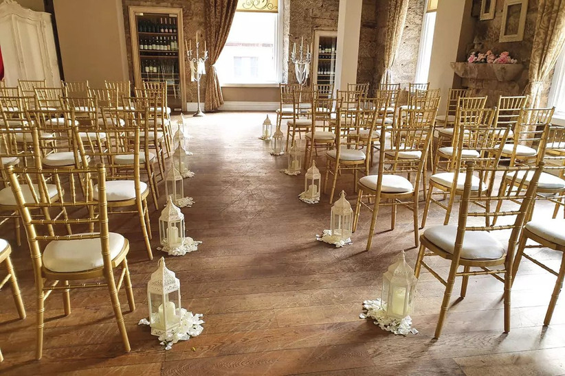 Wedding ceremony at Glasgow wedding venue Citation