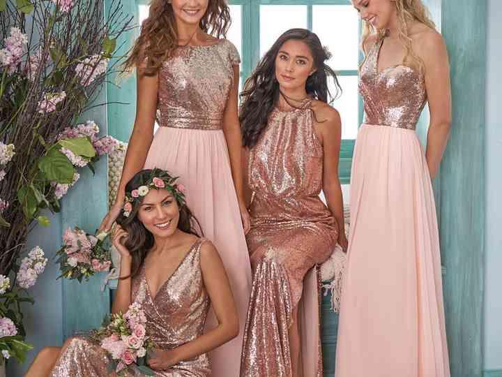 Rose Gold Bridesmaid Dresses Our Top Picks Hitched Co Uk,Plus Size Designer Wedding Dress
