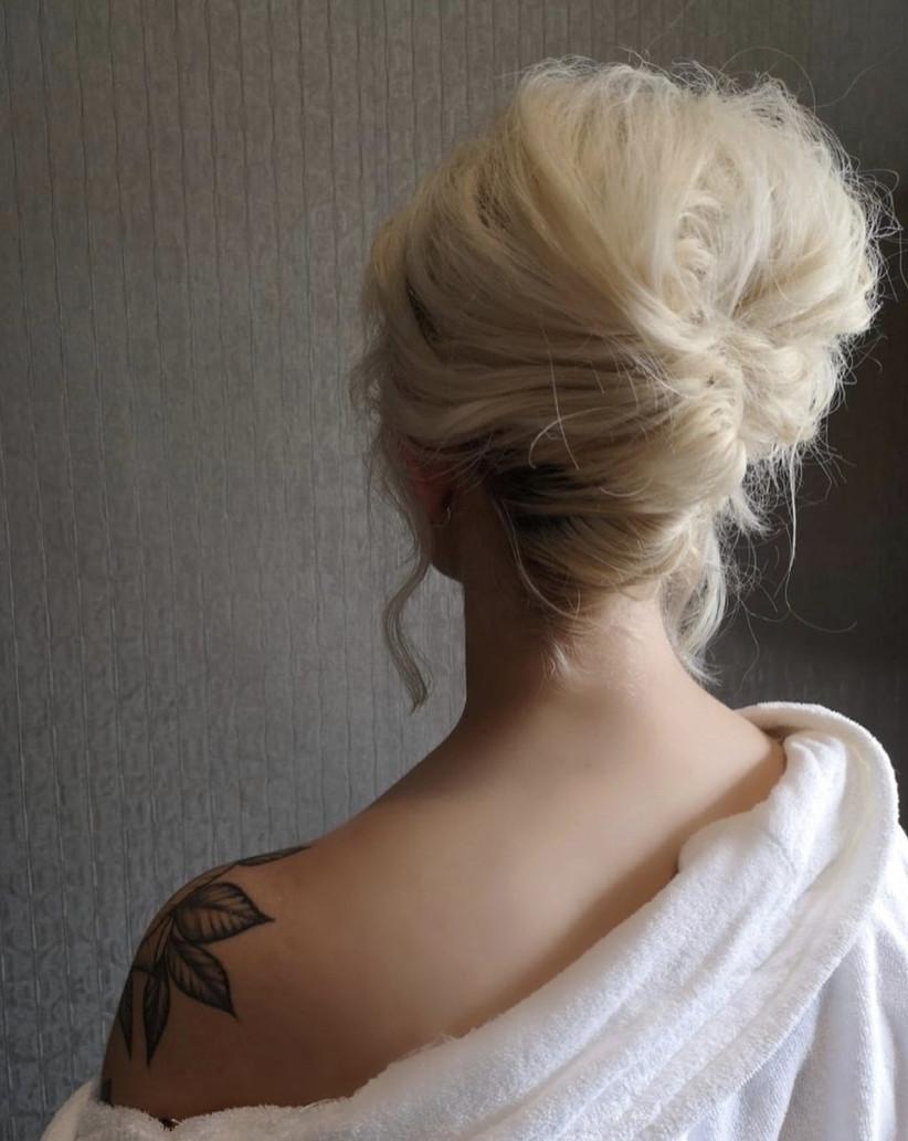 Wedding hair updo ideas 20