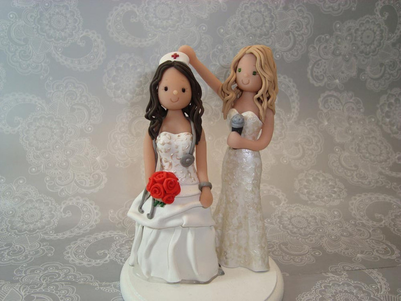 clay-figure-same-sex-wedding-cake-toppers