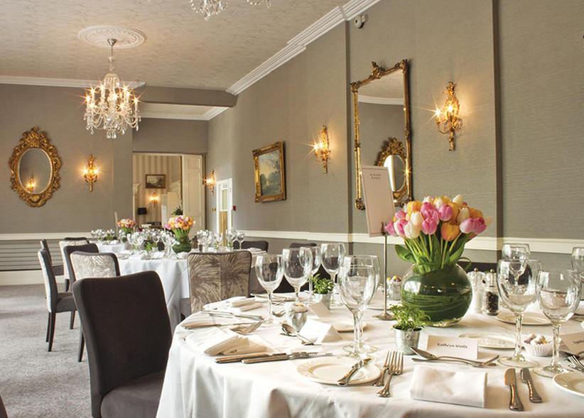 Event room at Hertfordshire wedding venue St Michaels Manor