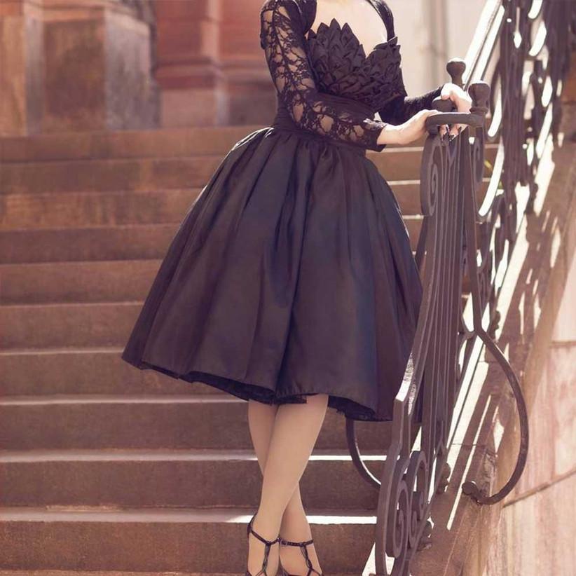 50s-black-dress