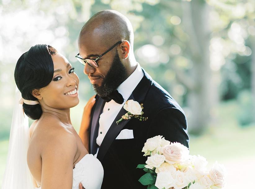 Real Covid wedding Shanice and Stephen