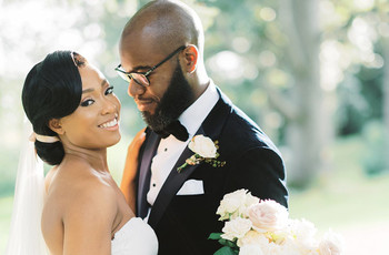 Real Covid Wedding: Shanice and Stephen, Deer Park Country House in Devon