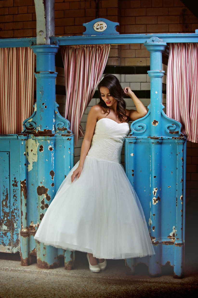 Our Favourite 1950s Inspired Wedding Dresses Hitched Co Uk