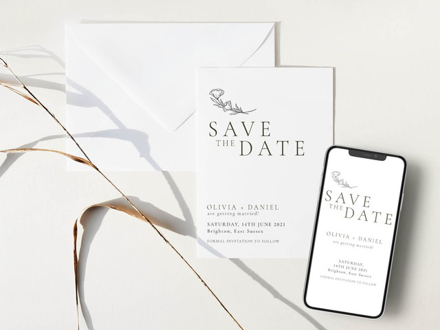 Online Save the Dates: Etiquette & Our 15 Favourite Ideas