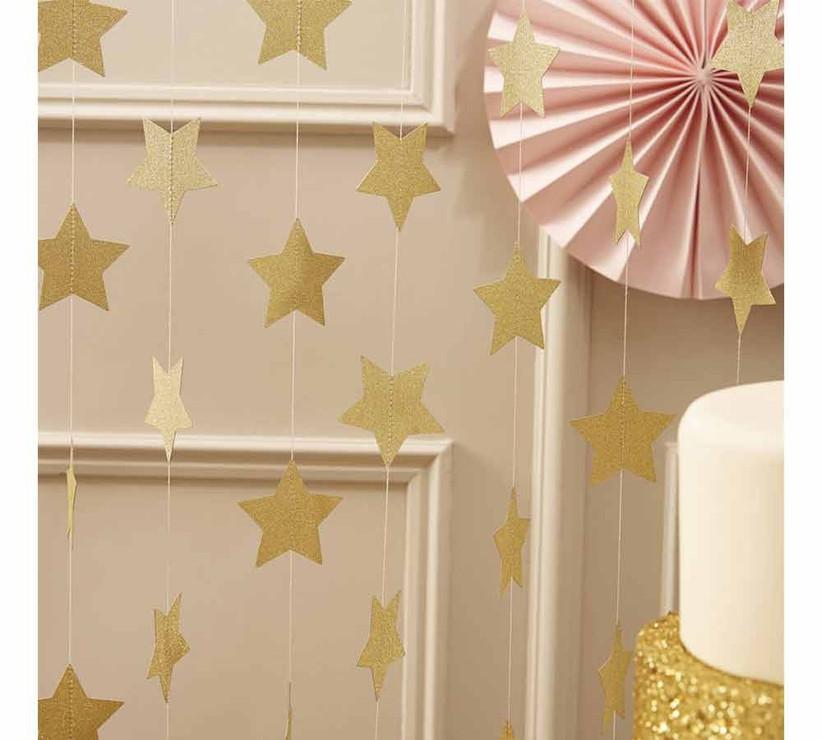 sparkly-star-garlands