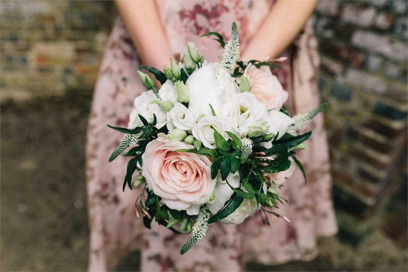 wedding-bouquet-with-veronicas