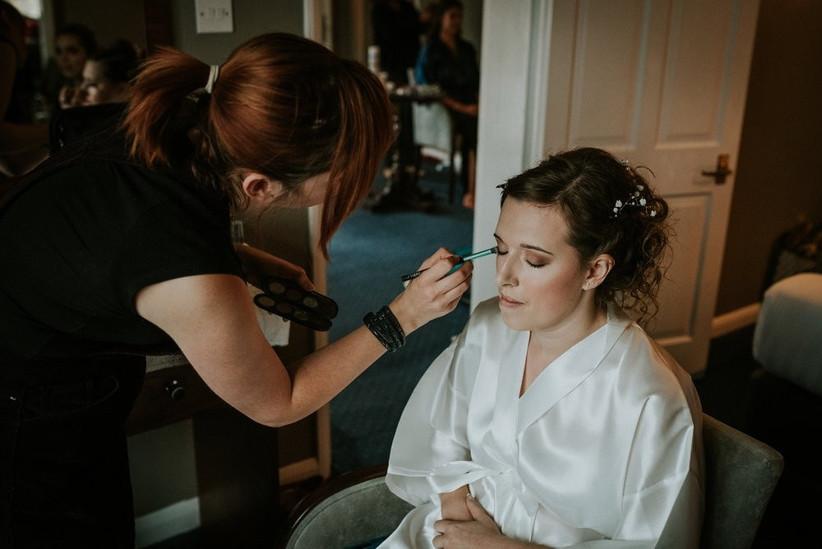 on yout wedding day makeup CREDIT TONI SEARLE