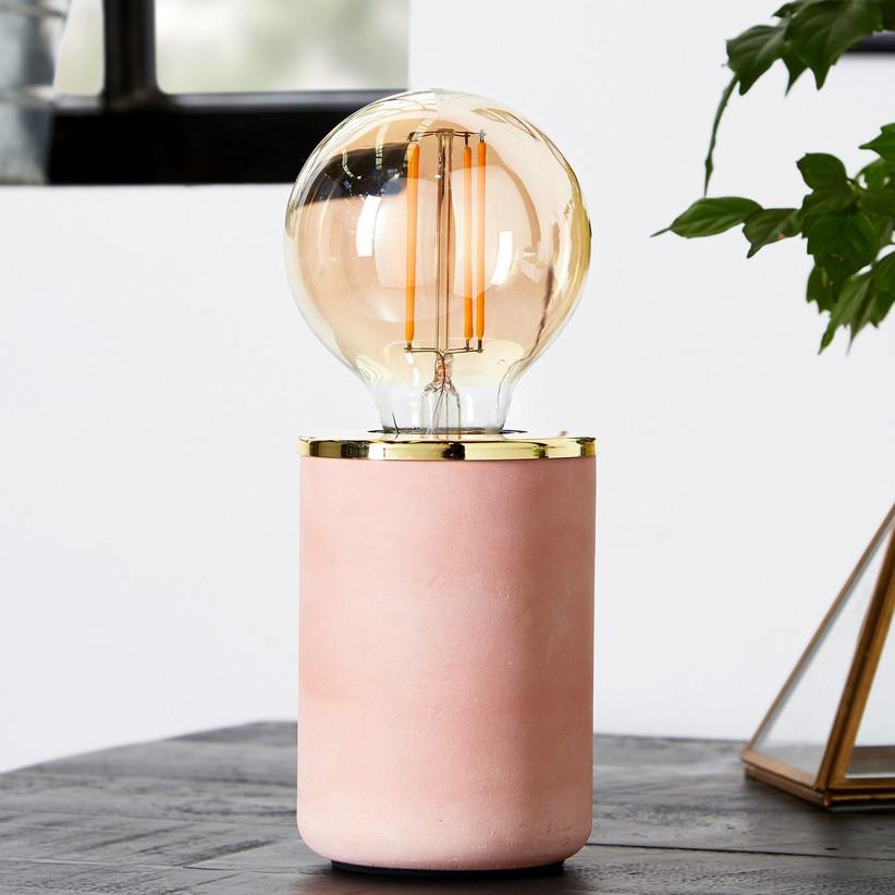 Pink lamp gift