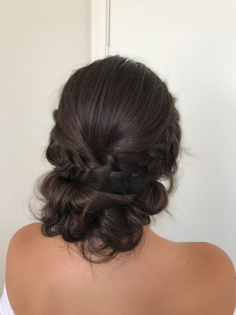Wedding hair updo ideas 25