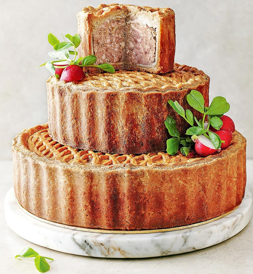tiered-pork-pie-wedding-cake-from-marks-and-spencer