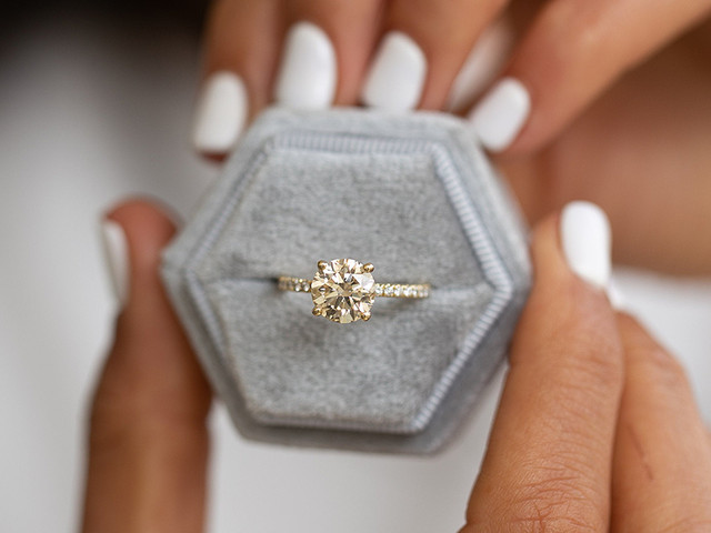 Yellow Diamond Engagement Rings: 13 Unique Designs for Stylish Brides