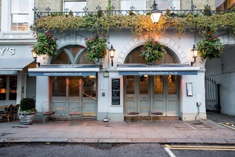 London Pub Wedding Venues The Hollywood Arms