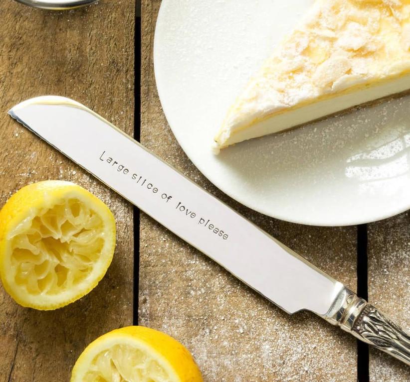 borrowed cake knife