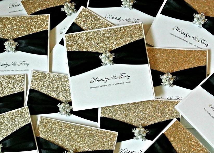 gold-wedding-invitations