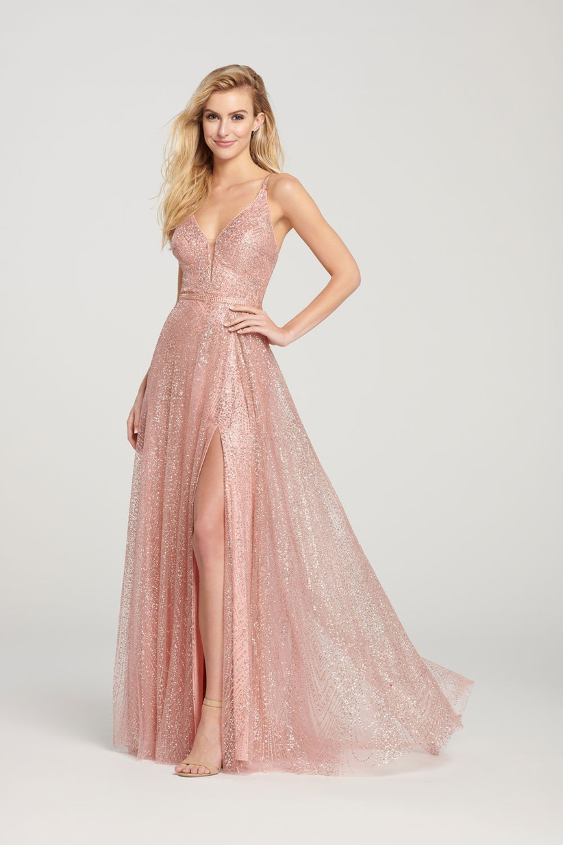 rose-gold-bridesmaids-dress-2
