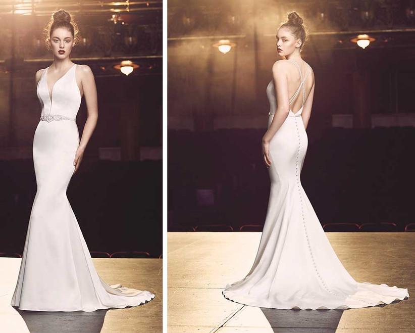 satin-wedding-dress-with-plunge-neckline