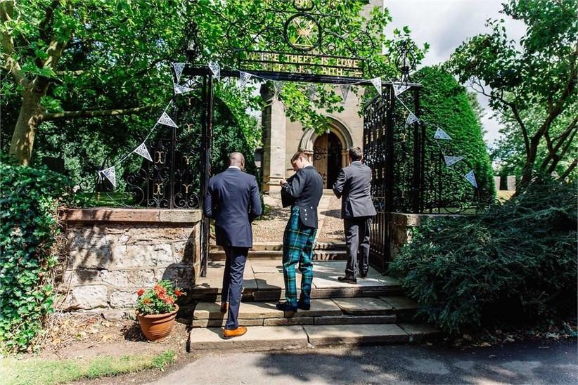 Thorpe Garden church wedding