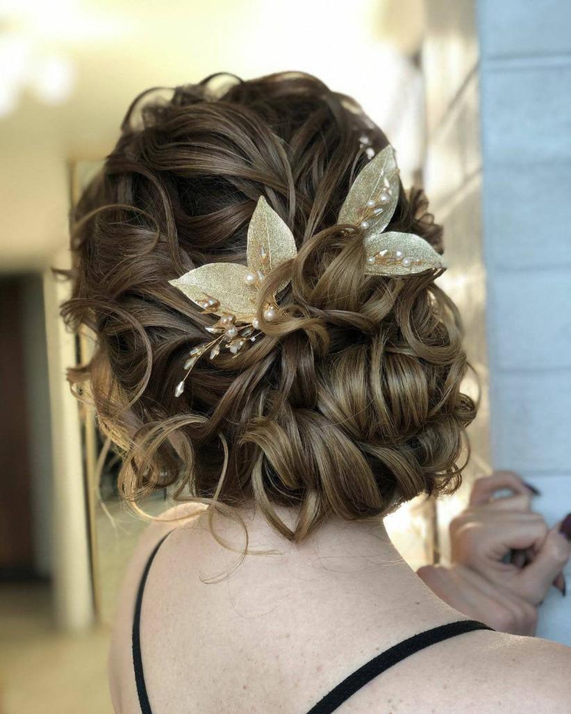 Wedding hair updo ideas 30