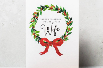 30 of the Best Christmas Cards for Your Fiancé or Fiancée
