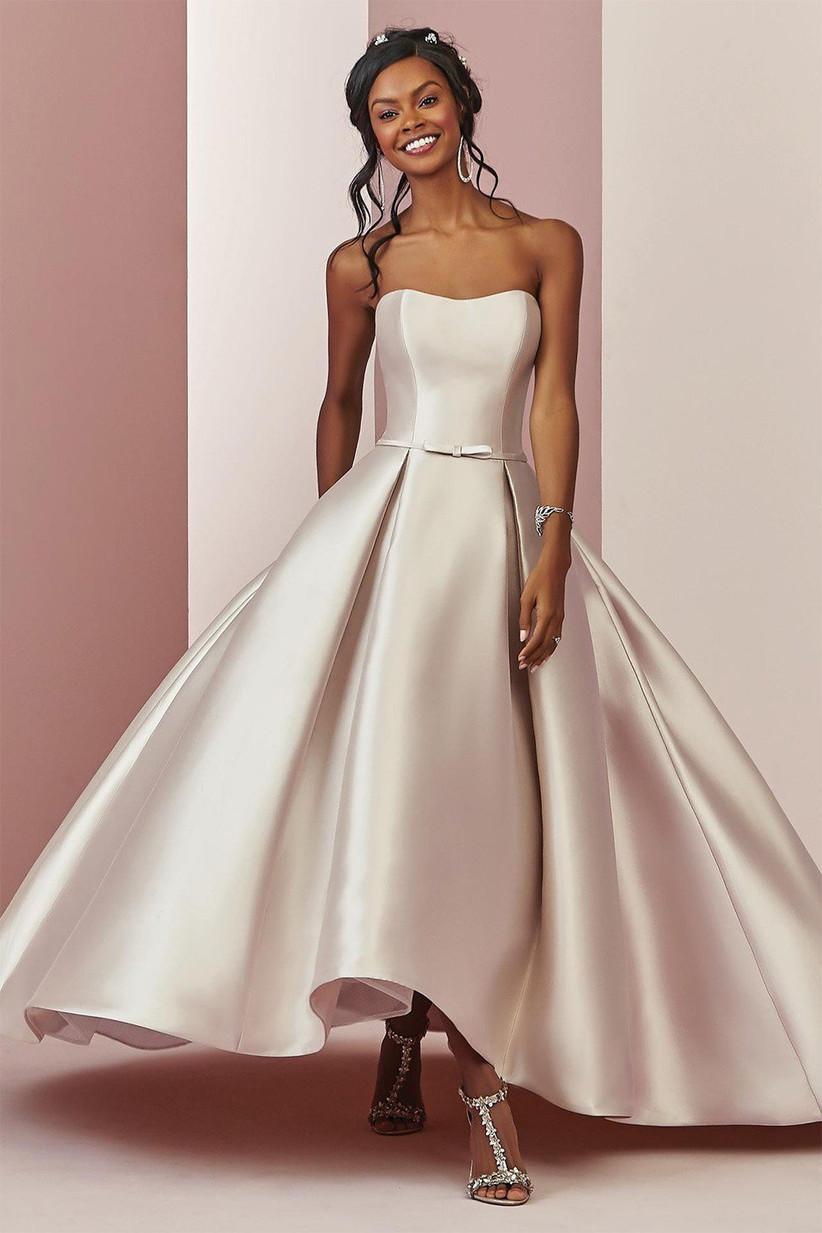 Shorter wedding dress