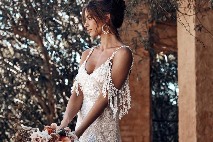 30 Beach Wedding Dresses Perfect for a Destination Wedding