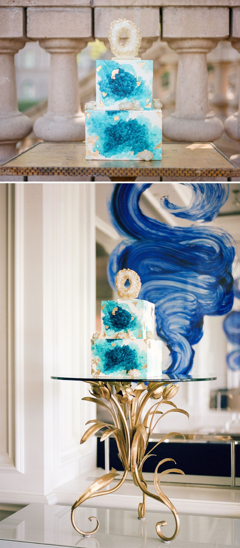 blue-and-gold-geode-wedding-cake