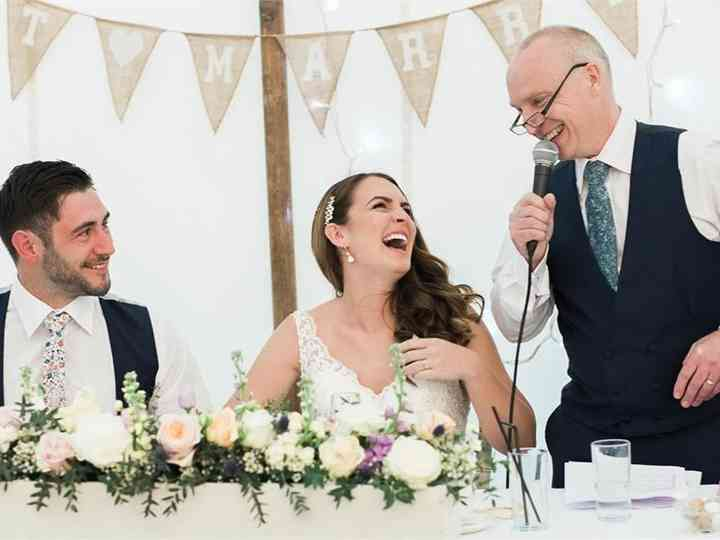 Writing A Simple Father Of The Bride Speech Our Complete Guide Hitched Co Uk