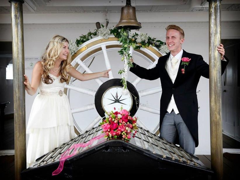 couple-on-board-boat-wedding-venue-hms-gannet