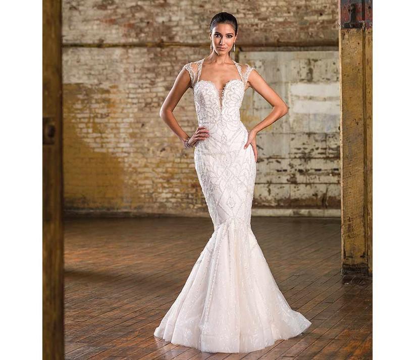 embroidered-justin-alexander-fishtail-wedding-dress
