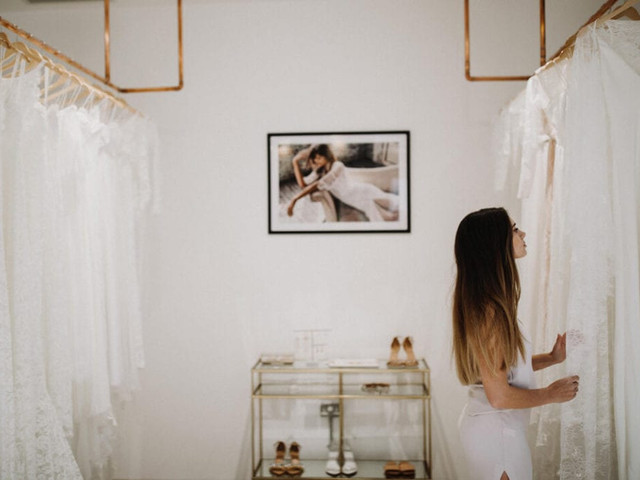 Our Guide to Wedding Dress Shopping During Covid