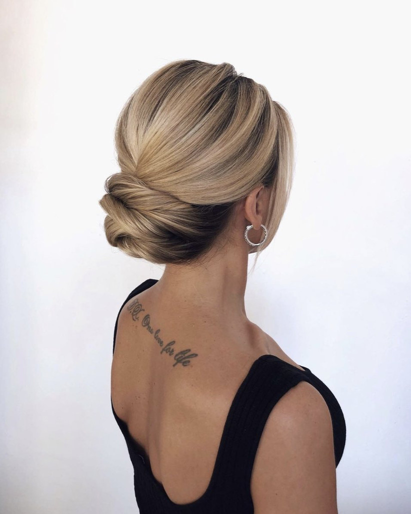 Wedding hair updo ideas 35