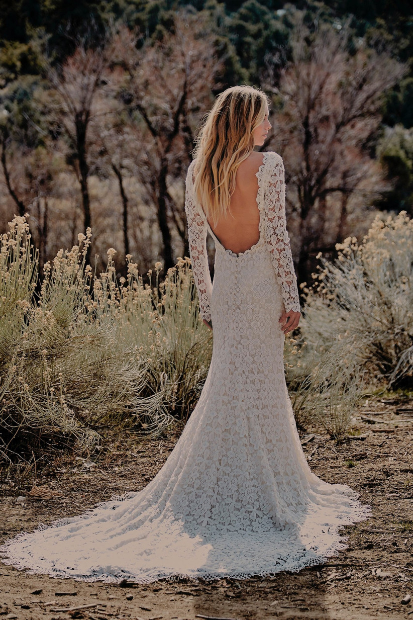 Fit and Flare Wedding Dresses-1