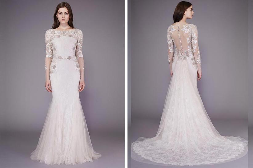 floral-patterned-long-sleeved-wedding-dress