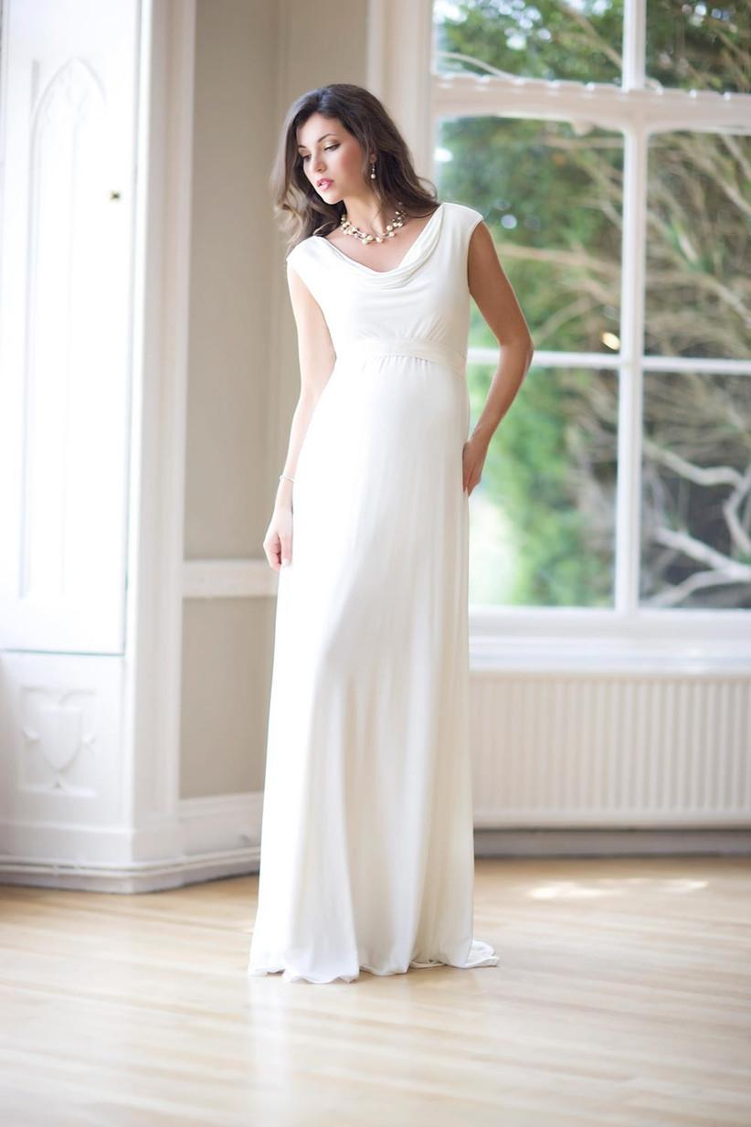 perfect maternity wedding dress - tiffany-rose-liberty
