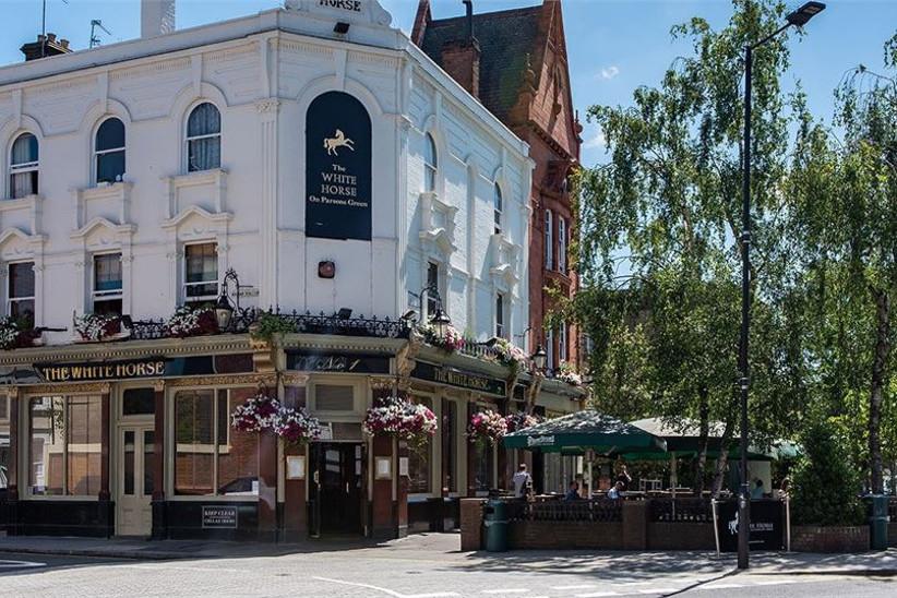 London Pub Wedding Venues The White Horse