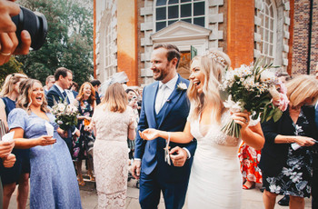 A Boho Wedding at Petersham Nurseries with a Pre-Loved Rime Arodaky Dress + Cocktail After Party