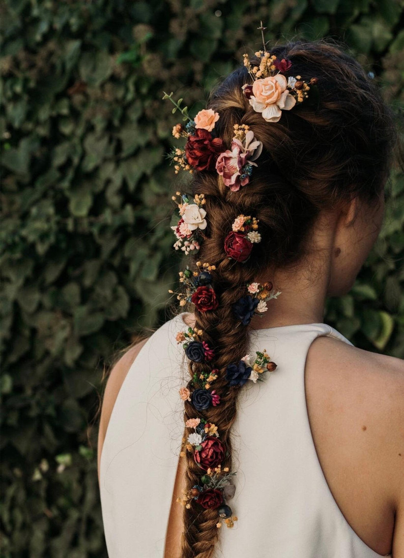 Best wedding hairstyles for long hair 17