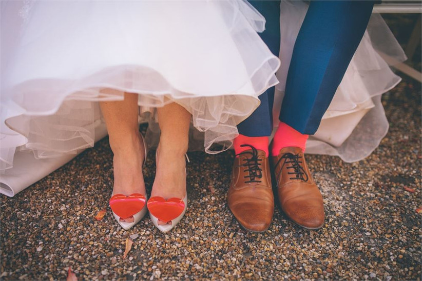 Story and Colour Wedding Shoes