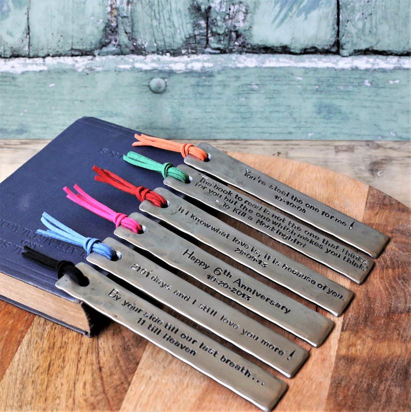iron bookmarks