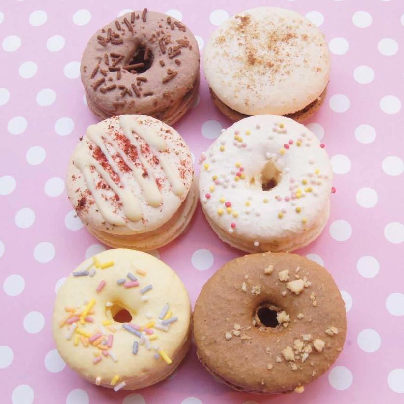 doughnut-wedding-macarons