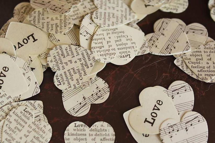 music-and-word-wedding-confetti