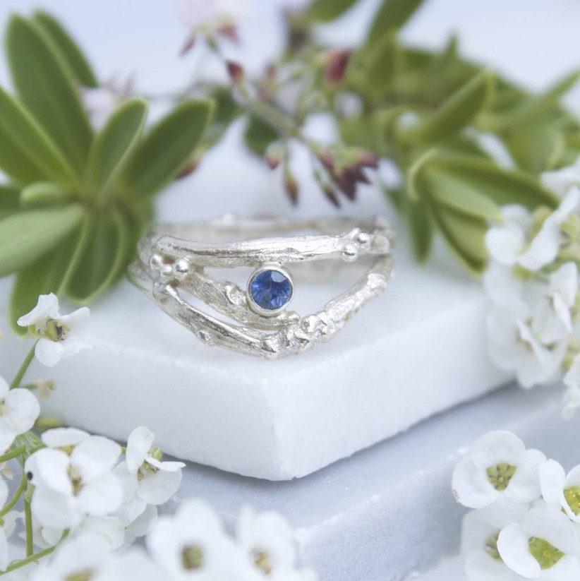 white-gold-and-sapphire-twig-engagement-ring