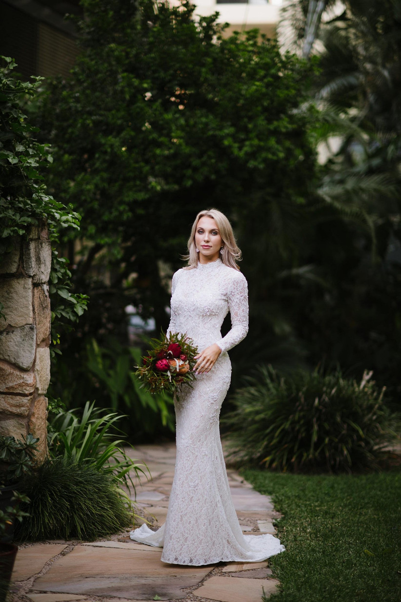 21 Best High Neck Wedding Dresses For 2021 Hitched Co Uk