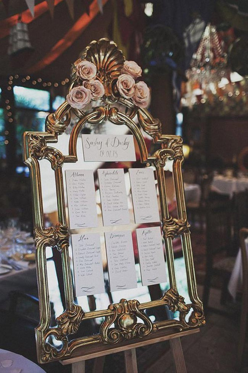 table-plan-on-a-gold-mirror